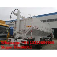 Quality cheaper dongfeng tianjin 6*2 15tons electronic system discharging feed delivery truck for sale, hot sale 30tons anim for sale