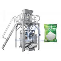 Automatic Vertical Form Fill Seal Machine , 100g To 5kg Sugar Packaging Machine Manufactures