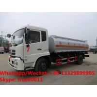 Quality Factory sale bottom price dongfeng 18,000Liters oil tank delivery truck, HOT SALE!dongfeng 4*2 LHD fuel tank truck for sale