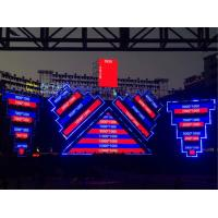 Full Color  Large Outdoor LED Video Wall 1R1G1B Slim With   Wide Viewing Angle Manufactures