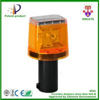 Factory supply Hot sale 4 LED traffic solar warning light,solar traffic cone light, solar LED Traffic warning light Manufactures