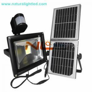 China solar led lighting with microwave motion sensor on sale