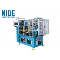 Compression motor automatic stator coil lacing machine , four working station machine Manufactures