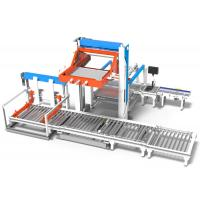 Low Position Film Packs Palletizing Machine Shrink Packs Or Trays Manufactures