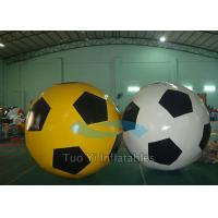 Custom Advertising Inflatables Sports Balloons , Event Showing Soccer Ball Balloon Manufactures