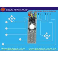 Quality Customized Embossed LED Tactile Membrane Switch With 2.54 Mm Pitch for sale