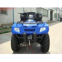 China 400cc ATV Quad Bike 4 * 4F / R Independent Suspension Iron / Aluminum Rim Electric Shift on sale