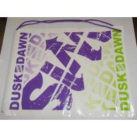 HDPE Plastic Drawstring Backpack Manufactures