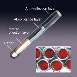 3 layer coating solar vacuum tube Manufactures