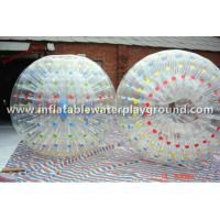 Outdoor Aqua Inflatable Zorb Ball 0.8mm PVC , Inflatable Human Hamster Ball Manufactures