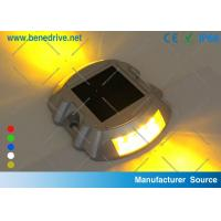 Flashing Solar Barricade Lights Aluminum Shell LED Road Barrier Light With All Night Illumination 10T Resistance Manufactures