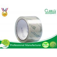 48MM X 66M OPP Crystal Clear Tape Low Noise Acrylic Adhesive For Carton Sealing Manufactures