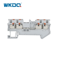Buy cheap Din Rail Push In Connection Screw Terminal Wire Connectors CE / RoHS Certificati from wholesalers