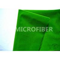 Buy cheap 100 Polyester Adhesive Green  Loop Fabric For  Tape , OEM Available from wholesalers