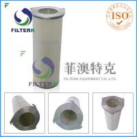Three Lugs Industry Pleated Filter Cartridge For Painting House , Longlife Manufactures