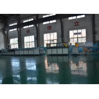 China New Condition Wood Plastic Production Line Durable 37kw Motor Power WPC Profile Machine on sale