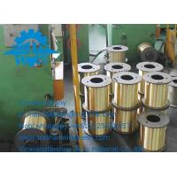China wholesale  high quality and low price edm brass copper wire with for EDM cutting machine Manufactures