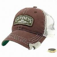 Men's Cap with Bottle Opener, Stone Washed, Suitable for Promotional Gifts Manufactures