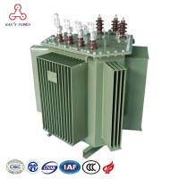 S11 Series iron core pure copper triangle structure 6.6kv 63 kva oil immersed distribution transformer Manufactures