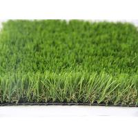 35MM Natural Looking Outdoor Artificial Grass For Gardens , Outdoor Synthetic Turf Manufactures