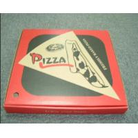 Quality 9 Inch Eco-Friendly Recyclable Customized Corrugated Paper Pizza Packaging Boxes for sale