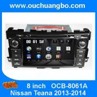 Ouchuangbo Car Audio GPS DVD Player Nissan Teana 2013-2014 Auto Multimedia Radio System OCB-8061A Manufactures