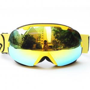 China Detachable Anti Fog Mirrored Ski Goggles REVO Lenses For Snow Boarding on sale