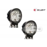 "AUDI / BMW 27 Watt 6"" Super Bright Led Work Lights With Pmma Lens For Back Up Light Manufactures"