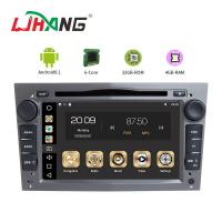 Android 8.1 Opel Car Radio HMDI Output Double Din With Black Grey Silver Frame Manufactures