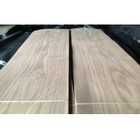 Constructional Walnut Wooden Veneers , Crown Cut Thin Wood Sheets Manufactures