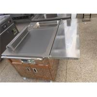 Buy cheap Electric / Gas Heating Teppanyaki Grill Table for Restaurant Hotel from wholesalers