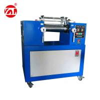 Rubber Test Machine Plastic Rubber Lab Two Roll Mill Equipment , 2 Roll Mill Mixer Manufactures