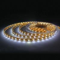 Ce & RoHs approval 3528 SMD White 0.4A 12VDC LED flexible strip light Manufactures