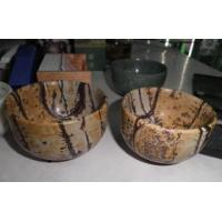 Buy cheap Natural Picture Jasper Bowl Crafts for Home Decoration from wholesalers