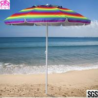 Promotional colourful sandy beach umbrella , sun beach umbrella made in China with best price Manufactures