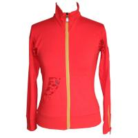 Orange Bamboo / cotton Ladies Tops Organic Womens Clothing for Spring , Autunm Manufactures