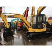 Komatsu mini crawler excavator PC55 for sale, Cheap used original Japan PC55 excavators in Shanghai Manufactures