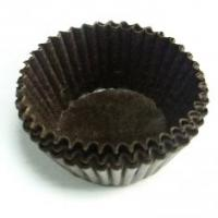 Quality Novel Laser Cut Decorative Cupcake Wrappers / baking cups in 180gsm Special Paper for sale