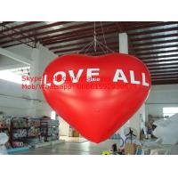 inflatable helium balloon inflatable heart shape calloon Manufactures