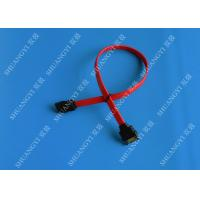 7 Pin Internal Serial ATA Data Cable Male To Female SATA Extension Data Cable Manufactures