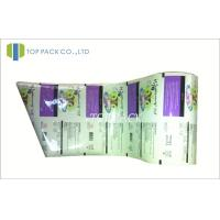 China Laminated Plastic Packaging Film Roll , 2 Layer / 3 Layer Food Packaging Film on sale