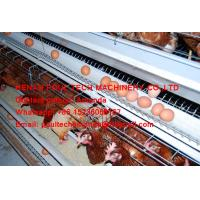 Silver Hot Galvanized Steel Chicken Farming A Type Battery Layer Chicken Cage with Feeding&Drinking System Hold 120 Bird Manufactures