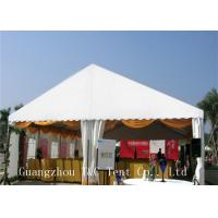 White Trade Show Canopy For Outdoor Exhibition , UV Resistant Commercial Party Tents Manufactures