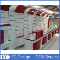Custom Popular Retail Wood Glass Mobile Shop Counter Design For Mobile phone store Manufactures