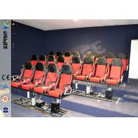 Eletronic / Pneumatic 3DOF Motion Theater Chair With Wood Frame Carton Manufactures