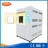 Quality Three Zone Programmable Cold Thermal Shock Testing Chamber with touch screen for sale