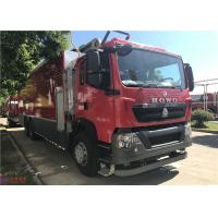 Quality ABS Brake Type Water Pump Fire Truck Diesel Engine 11900×2500×3950mm Dimension for sale