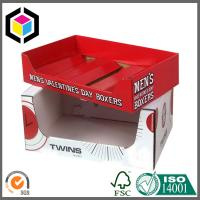 Glossy Color CMYK Custom Design Printing Corrugated Display Box Tray Manufactures
