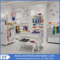 Matte lacquer Kids Shop Interior Design - Popular Kids Clothing Stores with customized logo Manufactures