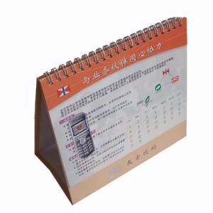 Glued binding, casebound binding, spiral binding or wire-o Customized Calendar Printing Manufactures